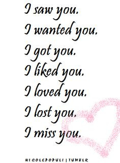 lost love quotes | ... loved you i miss you relationships love quotes ...