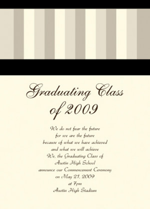 Access additional cute graduation announcement sayings listed here at ...