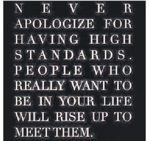 Dont apologize!