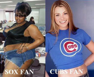 ... of Cubs fans and White Sox fans. You decide who wins this series