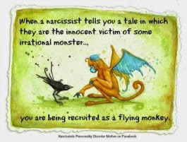 ... Recruiting Flying Monkeys by Playing the Victim Quote by Gail Meyers