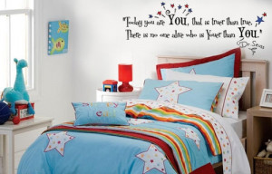 Dr Seuss quote vinyl wall poetry