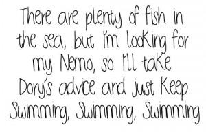 black and white, boys, dory, finding nemo, fish, love, nemo, sea ...