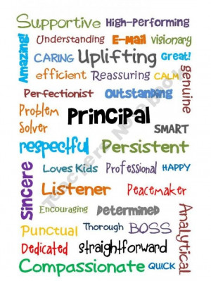 So thankful that our kids have an awesome Principal at their school ...