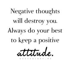 ... bad moods because I feel stuck in the same place. But optimism is the