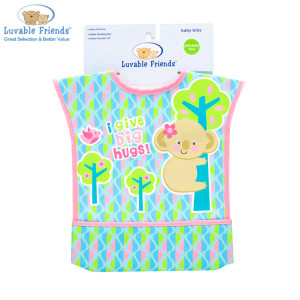 new arrival Fold Down Crumbcatcher waterproof overalls Baby sayings ...