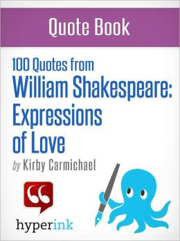 100 Quotes from William Shakespeare: Expressions of Love