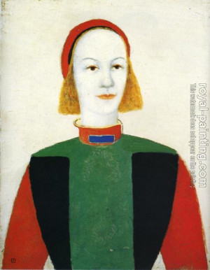 Kazimir Malevich Girl picture