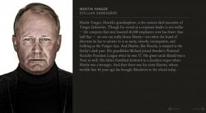 Stellan Skarsgard, The Girl With The Dragon Tattoo 2011, Martin Vanger ...