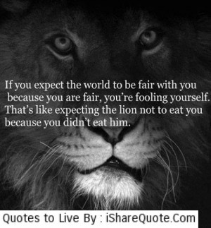 Motivational Quotes And Lions
