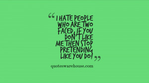 Sad Quotes About Fake Friends Facebook quotes about fake