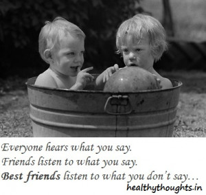 Boy Friends Inspirational Quotes