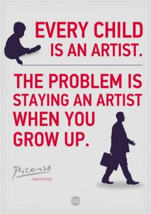Pablo Picasso Quote…
