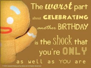 Happy Birthday Quotes Joke