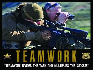 Teamwork Motivation Police...