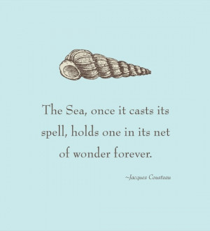 Perfectly put, Jacques Cousteau! Another Quote for Caneel Bay lovers