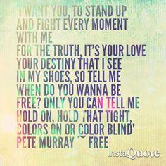 Pete Murray FREE love