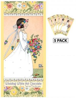 ... Engelbreit Wedding Day Belgian White Hot Chocolate Packets (5 Packets