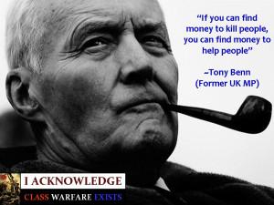 RIP Tony Benn - an honest polician. The rarest of things.