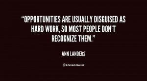 Quotes About Opportunities