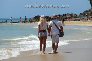 Playas de Fuerteventura. Club Aldiana en Morro Jable.