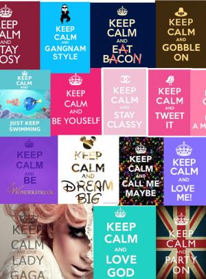 Soe Keep Calm Quotes ;)