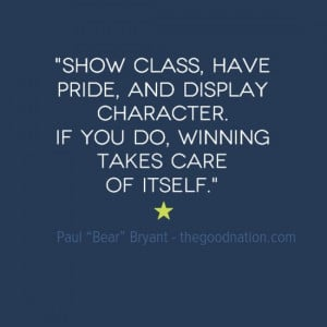 Paul Bear Bryant quote.Sports Quotes, Bryant Quotes, Motivation Quotes ...
