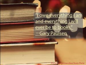 Gary Paulsen Book Quote