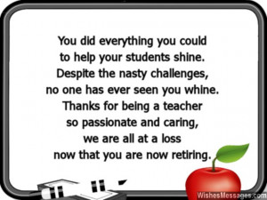 Retirement Quotes For Principals 31 You did everything you