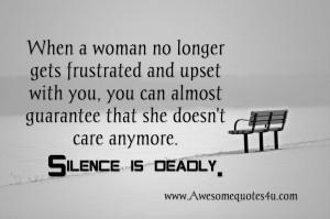 No Longer Friends Quotes When a woman no longer gets