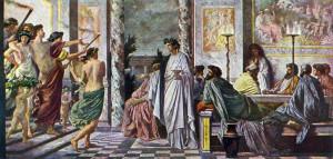 Das Gastmahl des Platon , Anselm Feuerbach, 1869)