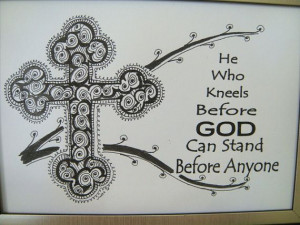 AA Al-anon NA Recovery Gift 5X7 Framed Orthodox Cross Art Quote - He ...