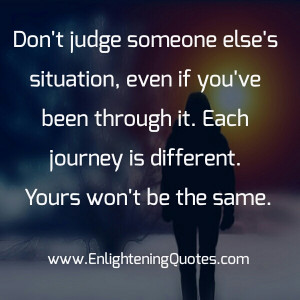 Sin Quotes: Don T Judge Someone Just Because They Sin Differently Than ...