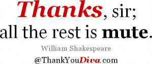 Famous Thank You Quotes & Sayings