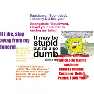 BEST SPONGEBOB QUOTES!!!(AGAIN) - Polyvore