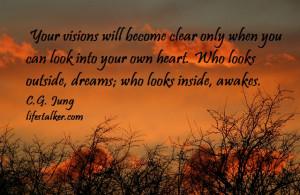 self realization quotes cg jung self awareness
