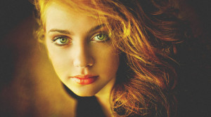 Image - Beauty,portrait,green,eyes,red,hair,red,head,beauty,eyes ...