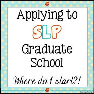 Funny Speech Language Pathology Quotes Applying to slp graduate