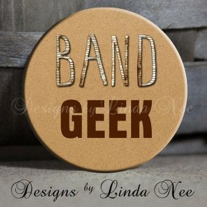 ... Trumpet, Drums, Marching Band, Football, Flute, Quote - Magnet, Key