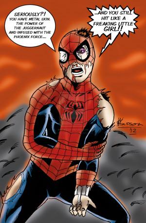 Spider Man Avx Funny...
