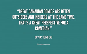 Great Canadian comics are often outsiders and insiders at the same ...