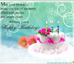inspirational birthday card 2 Inspirational Birthday Quote