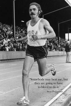 Running Medal Holder Steve Prefontaine Running Quote