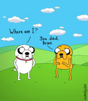adventure time, brian griffin, family guy, funny, rip brian
