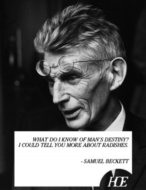 Quote of the Day: Samuel Beckett