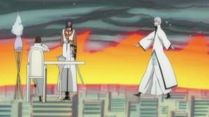 Aizen (Defected Shinigami), Kaname Tousen (Defected Shinigami), Gin ...