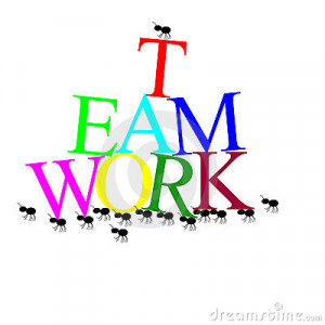 Great Team Effort Clipart