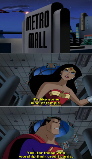 Justice League Animated Series Quote-7