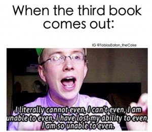 How I am feeling about Champion by Marie Lu, the third and final book ...