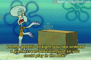 Squidward quote